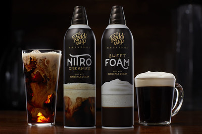 Reddi-wip brings the coffeehouse experience home with the launch of its Barista series, including Sweet Foam and Nitro Creamer.