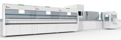 Beckman Coulter's DxA 5000 Total Laboratory Automation solution. (PRNewsfoto/Beckman Coulter)