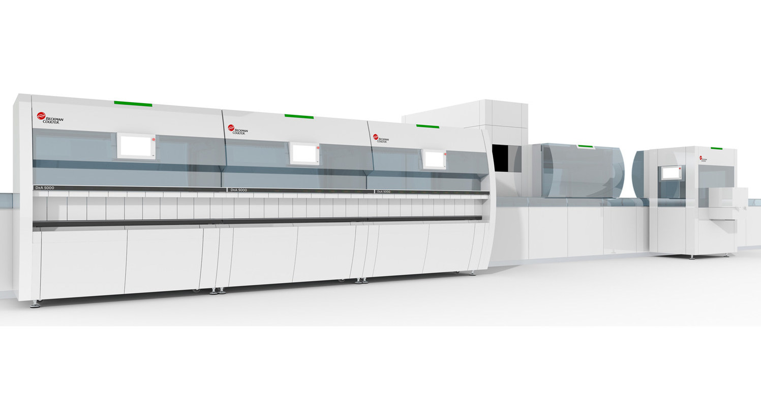 Beckman Coulter Introduces Total Laboratory Automation Solution That