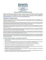 Bonavista Energy Corporation (CNW Group/Bonavista Energy Corporation)
