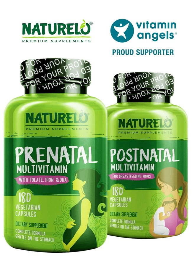 Vitamin Angels Mother's Day Campaign - NATURELO  Premium Supplements