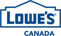 Logo: Lowe's Canada (CNW Group/Lowe's Canada)