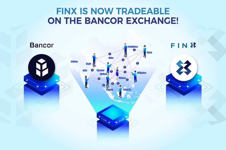 Decentralized Banking with FINX at Bancor Exchange