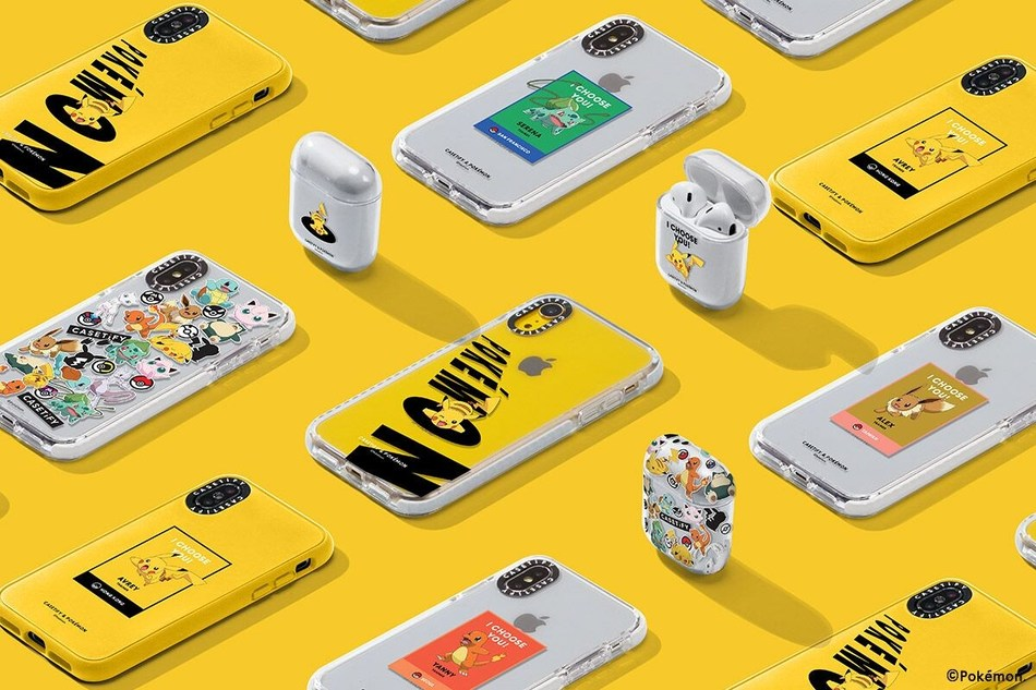 In first co-branded partnership, the CASETiFY & Pokémon Collection launches with limited edition merchandise available now and more to come.