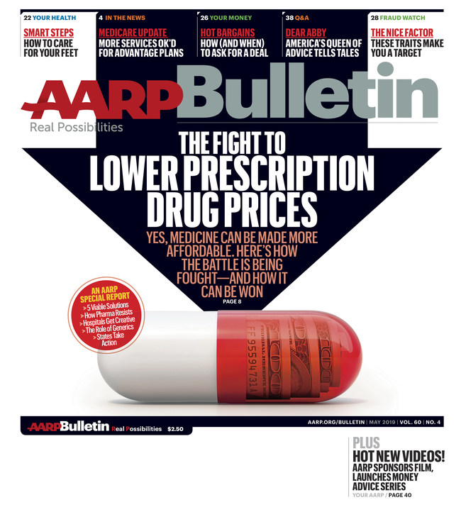 May AARP Bulletin: The Fight to Lower Prescription Drug Prices