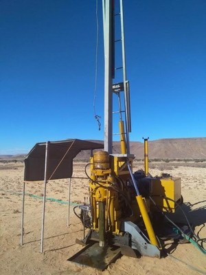 Photo 3 Longyear-38 Diamond Drill (CNW Group/Gratomic)