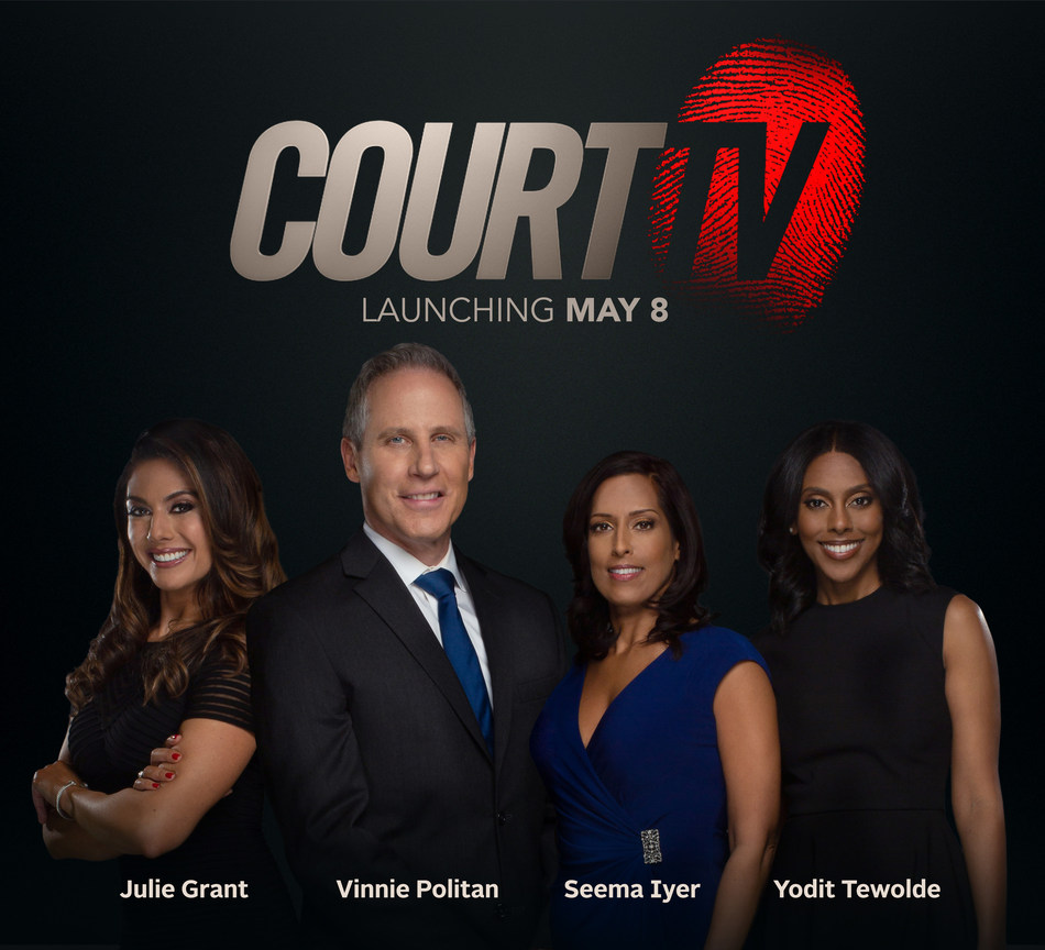 The new Court TV launches Weds. May 8