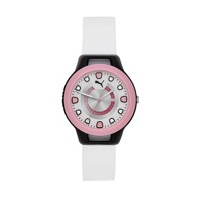 PUMA Women's RESET White Silicone Watch - Limited Edition