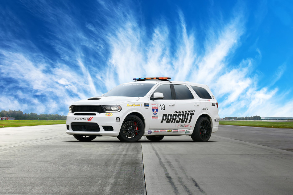 "This year's 2019 Tire Rack One Lap of America Presented by Grassroots Motorsports Magazine kicks off May 4 in South Bend, Ind., and Dodge//SRT is defending the Dodge Durango SRT's 2018 One Lap truck/SUV class title, upping its game with a new Durango SRT Pursuit concept called ""Speed Trap."""