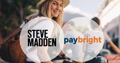 Steve Madden introduces Canadian pay-later option with PayBright (CNW Group/PayBright)