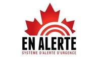 Logo : En Alerte, système d'alerte d'urgence (Groupe CNW/Pelmorex Corp.)