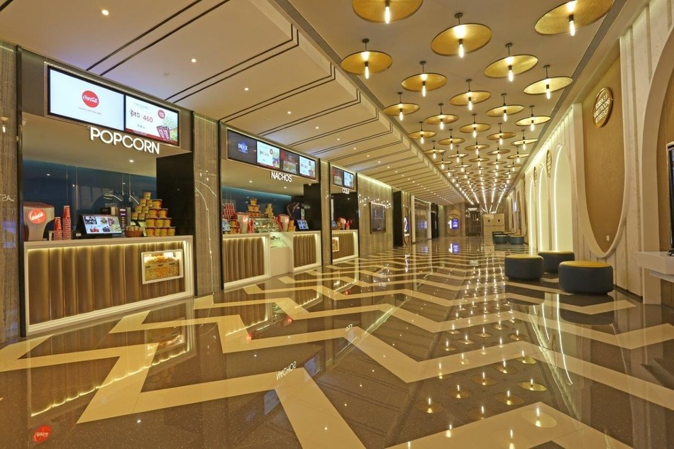 INOX opens its fourth multiplex in Vadodara at Taksh Galaxy Mall (PRNewsfoto/INOX Leisure Ltd.)