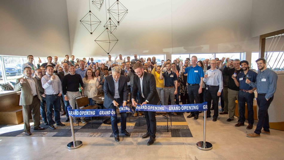 GKN Powder Metallurgy celebrated the opening of the North American PM Headquarter and AM Customer Center with an internal celebration on April 8. The new facility encompasses all three GKN Powder Metallurgy businesses: Hoeganaes, GKN Sinter Metals and GKN Additive.