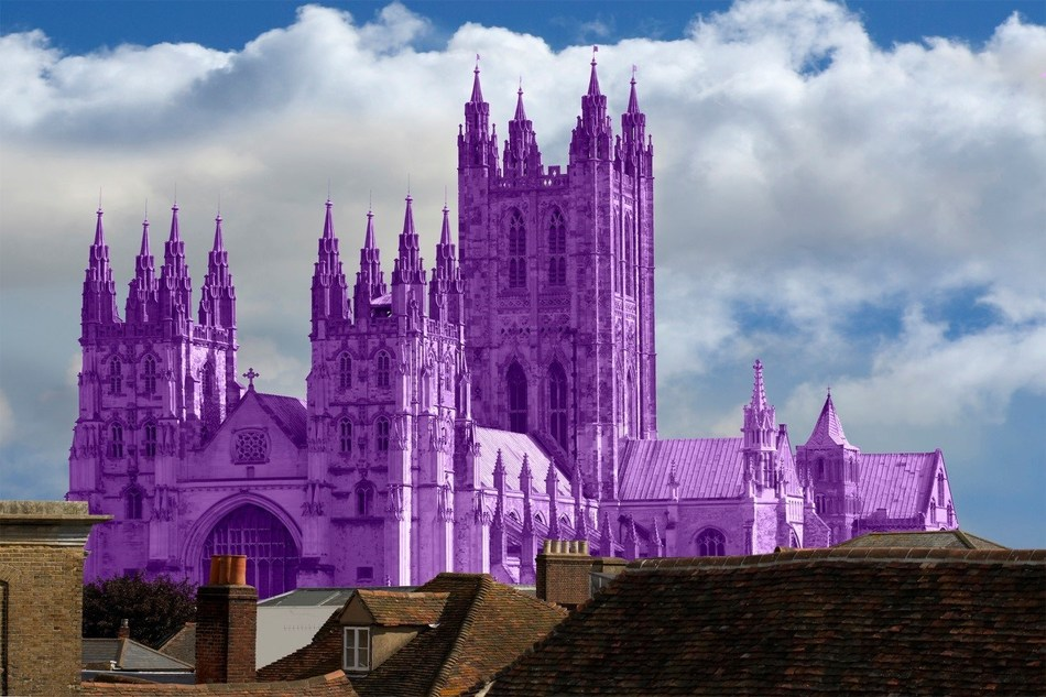Color Cathedrals, Canterbury