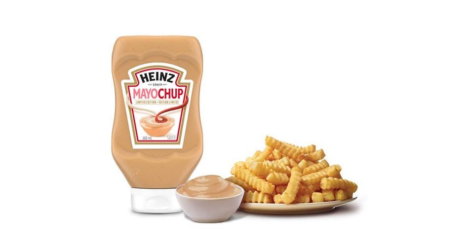 Mayochup: Le dernier né dans la catégorie des condiments sera disponible sur les tablettes canadiennes pour un temps limité (Groupe CNW/Kraft Heinz Canada)
