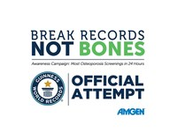 BREAK RECORDS NOT BONES (CNW Group/Amgen Canada)