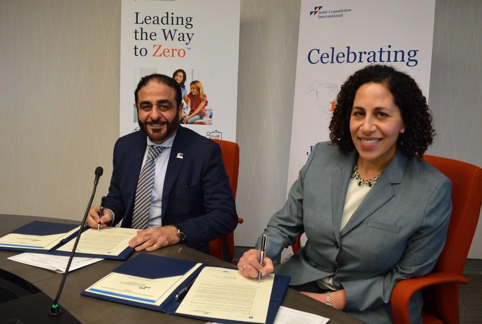 Hamdan Bin Mohammed Smart University & Joint Commission International develop programs in healthcare