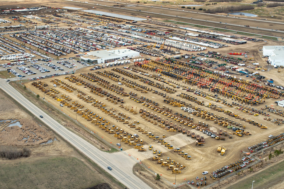 More than 12,300 items were sold for CA$207+ million in Ritchie Bros.' Edmonton April 2019 auction (CNW Group/Ritchie Bros. Auctioneers)