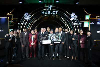 Hublot and WBC TEAM Up for a Legendary 'NIGHT OF CHAMPIONS'