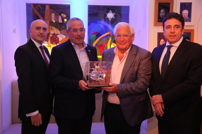 The Friends of Zion Museum honored the United States Ambassadors (Photographer credit: Yossi Zamir)