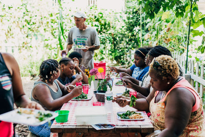 Slow Food NYC operates a tuition-free, educational, community farm in East New York, Brooklyn each summer and offers good food education programs for more than 2,000 New York City schoolchildren.