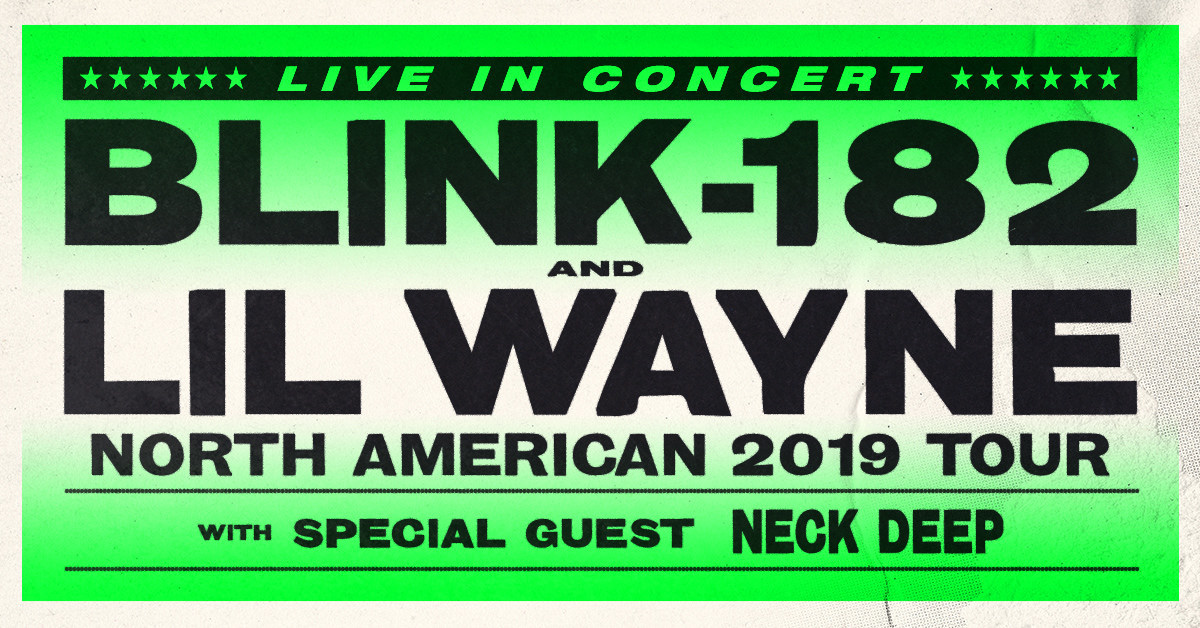 blink-182 And Lil Wayne Join Forces For Co-Headlining Summer