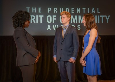 Two Vermont youth honored for volunteerism at national award ceremony in Washington, D.C.