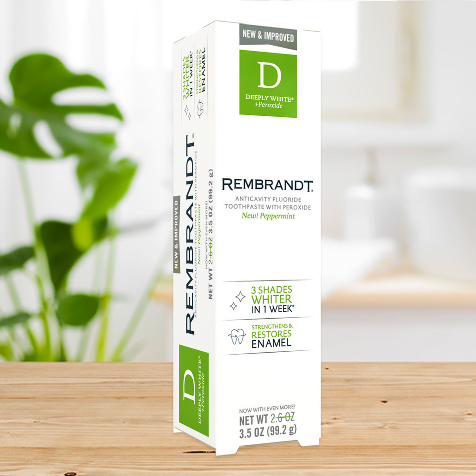 DEEPLY WHITE + Peroxide toothpaste, available at an SRP of $6.99, is sold at CVS, Amazon, Albertsons, Safeway, Meijer, SuperValu and additional retailers.