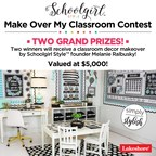 Lakeshore® Teams Up with Schoolgirl Style™ Creator Melanie Ralbusky for Classroom Makeover Contest