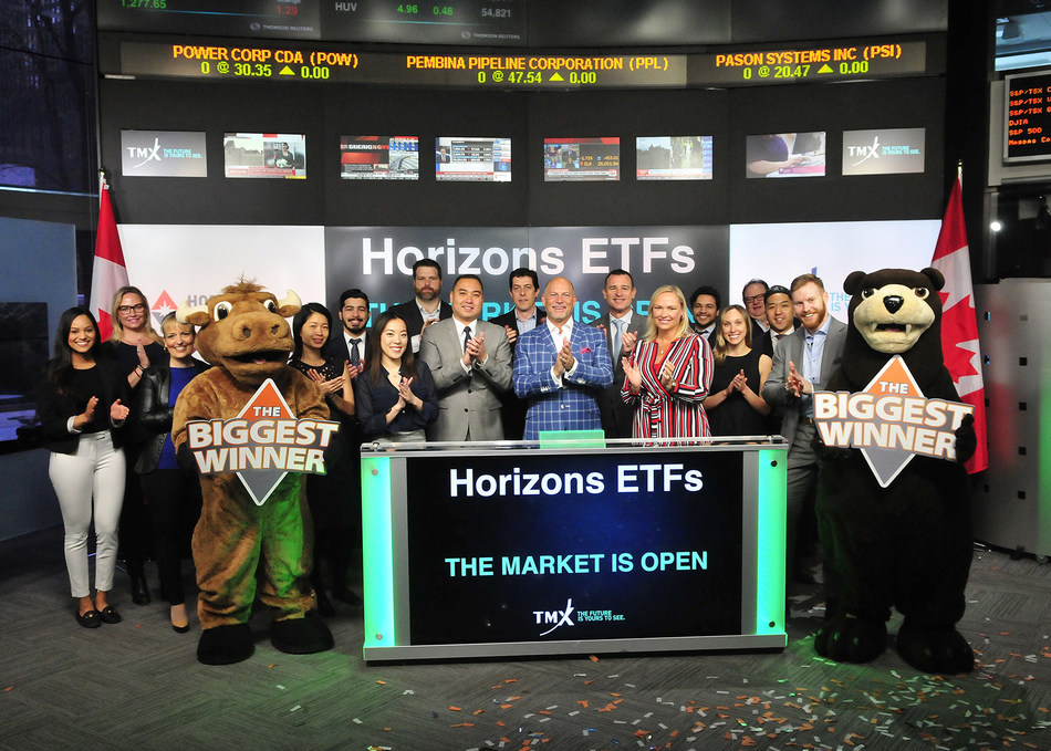 Horizons ETFs Opens the Market (CNW Group/TMX Group Limited)