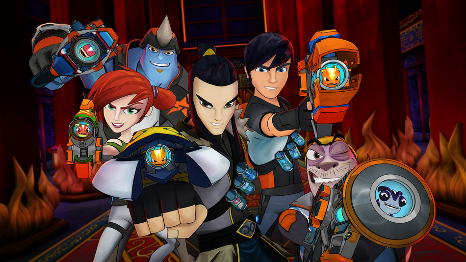 SLUGTERRA is coming summer 2019 to Xfinity X1 on the new Kids Room SVOD service from DHX Media. (CNW Group/DHX Media Ltd.)
