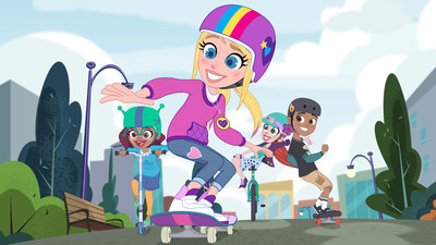 POLLY POCKET is coming summer 2019 to Xfinity X1 on the new Kids Room SVOD service from DHX Media. (CNW Group/DHX Media Ltd.)