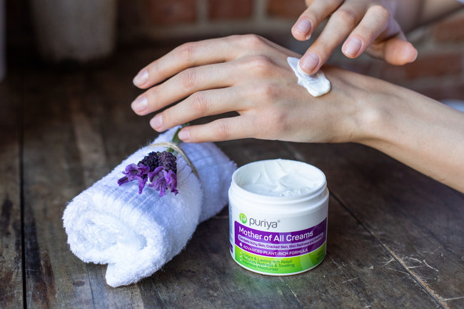 Pure Ingredients | Proven Results - Puriya's Mother of All Creams for natural relief of psoriasis, dermatitis without side effects