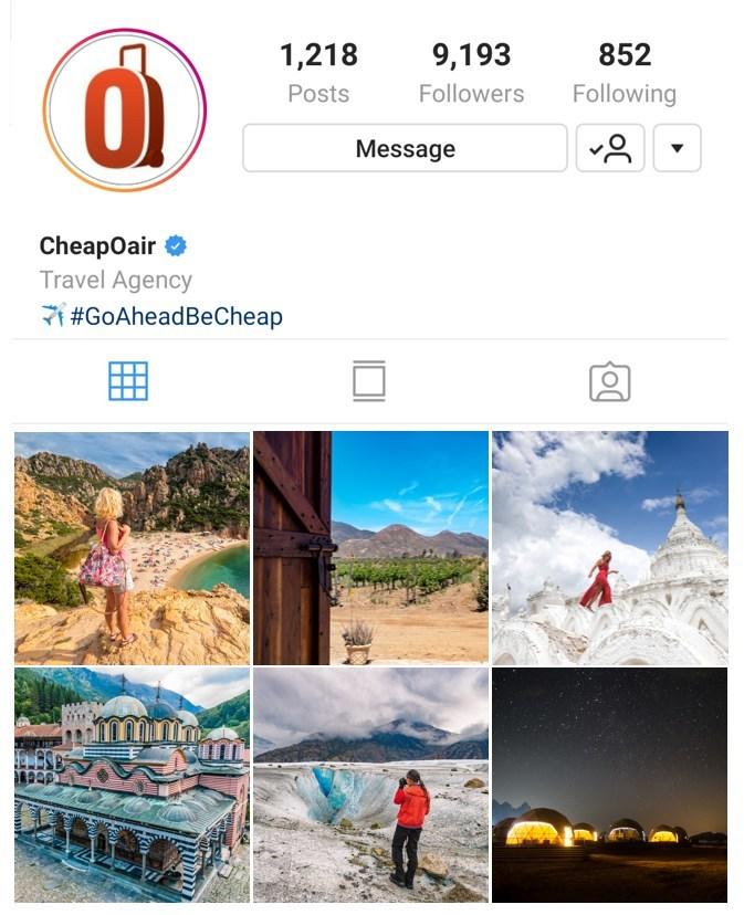 "CheapOair.com Names Six ""Insta-Worthy"" Destinations for Summer 2019"