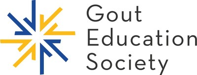 The Gout Education Society is a 501(c)(3) nonprofit organization of health care professionals dedicated to educating the public and health care community about gout—an extremely painful form of inflammatory arthritis—and the related health care consequences of hyperuricemia. With the aim of improving the quality of care and minimizing the burden of gout, the Gout Education Society offers complimentary resources for both the public and medical professionals. (PRNewsfoto/Gout Education Society)
