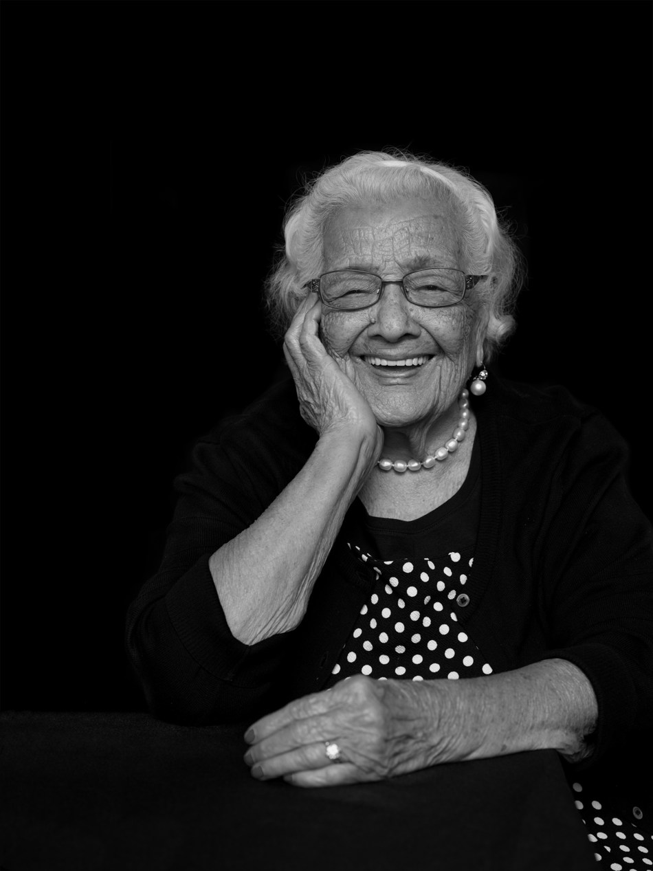 SCAN member Maria Calderon, 101 Years Old