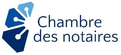 Logo : Chambre des notaires