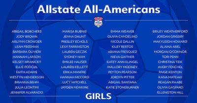 Allstate All-American Girls Players