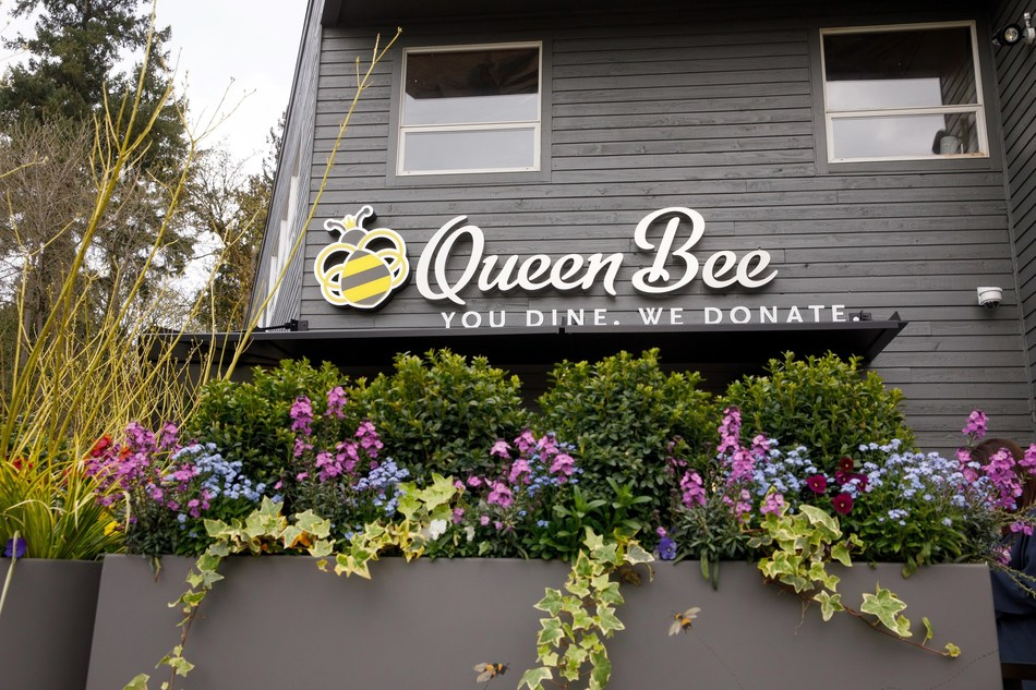 Aegis Living's new Queen Bee Cafe on Seattle's Eastside now open and donates all post-operating proceeds to charity.