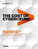Accenture's 2019 Cost of Cybercrime Study (CNW Group/Accenture)