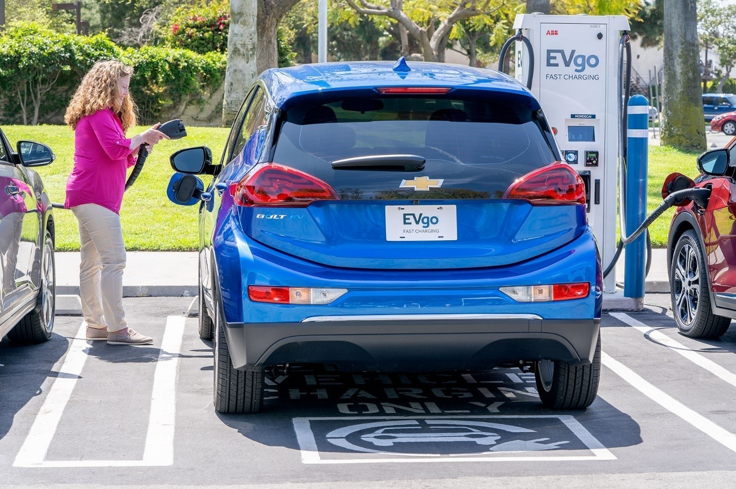 EVgo Goes 100% Renewable to Power the Nation's Largest Public EV Fast Charging Network; Photo Credit: EVgo