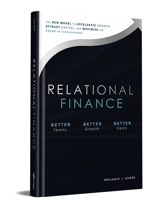 First Water Unveils New Website And Book On Relational Finance, New Finance Resources For Small & Midsize Businesses