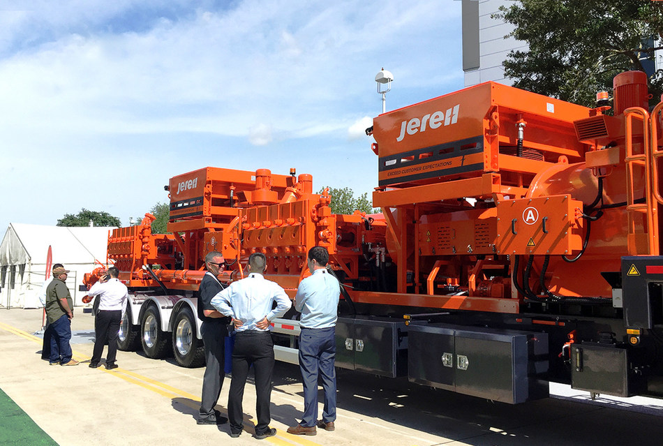Jereh Unveiled New Electric Fracturing Solution at OTC 2019