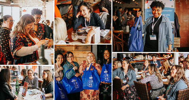 Boston-area mom bloggers and social media influencers enjoyed connecting with better-for-you-brands and each other at this relaxed networking event.