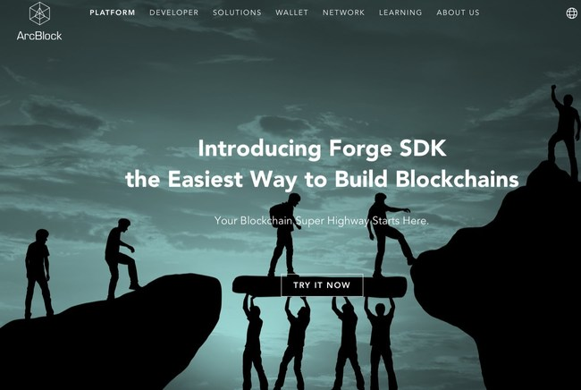 Forge SDK - the easiest way to build Blockchains and Decentralized Applications