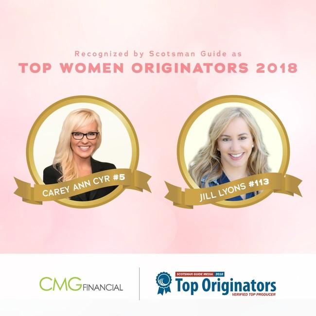 Carey Ann Cyr and Jill Lyons of CMG Financial
