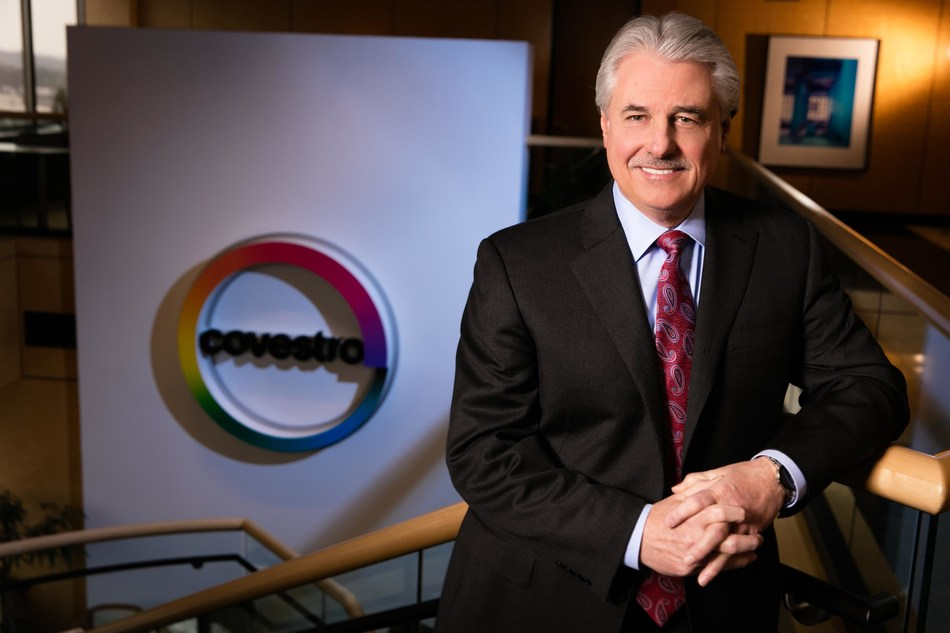Jerry MacCleary, CEO and chairman of the board at Covestro LLC, announces plans to retire at the end of 2019.
