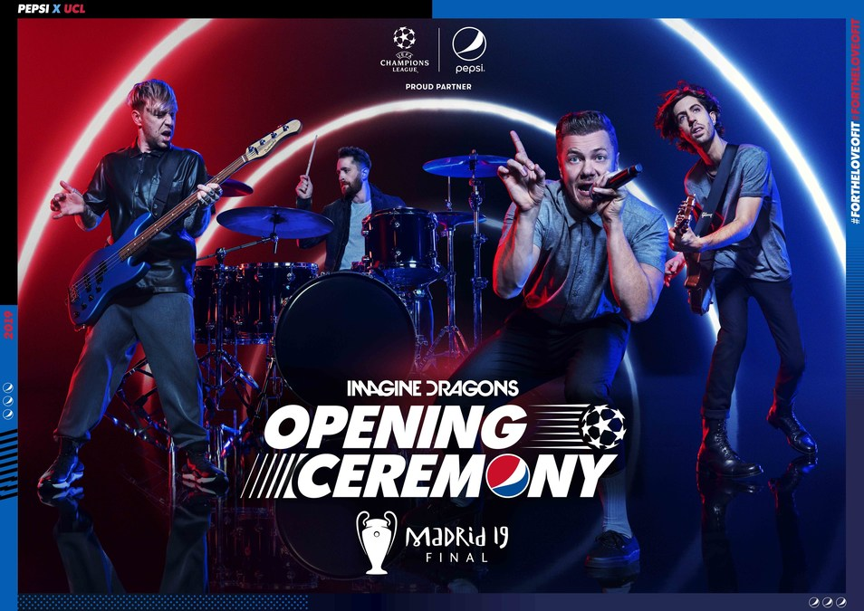 UEFA & Pepsi® Announce Imagine Dragons For UEFA Champions