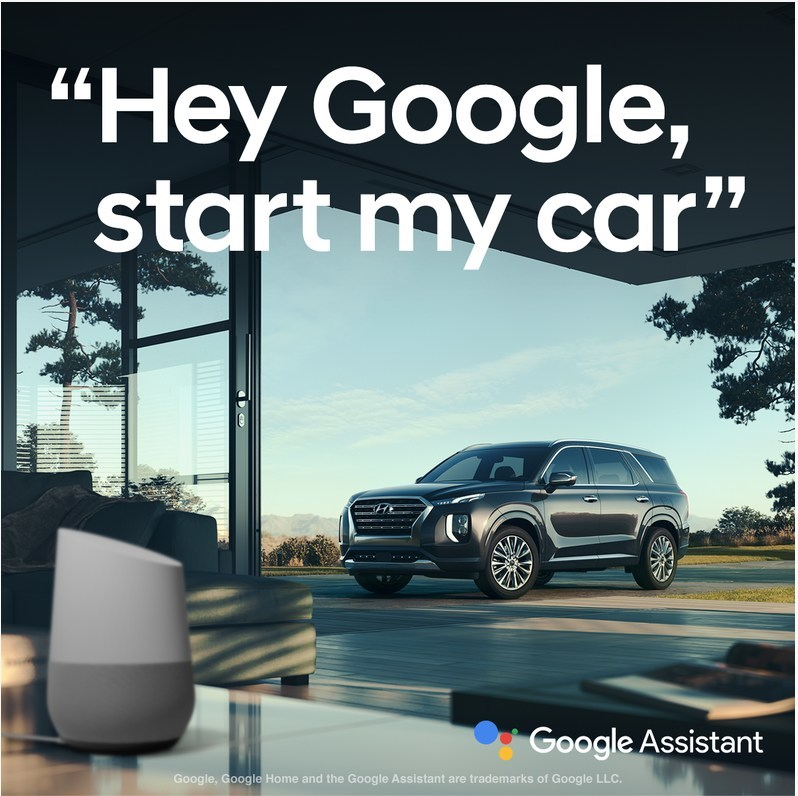 """Hyundai Streamlines Integration with the Google Assistant - Remote voice control made even simpler - """"Hey Google, lock my car."""" - Demonstrations take place at Google I/O"""