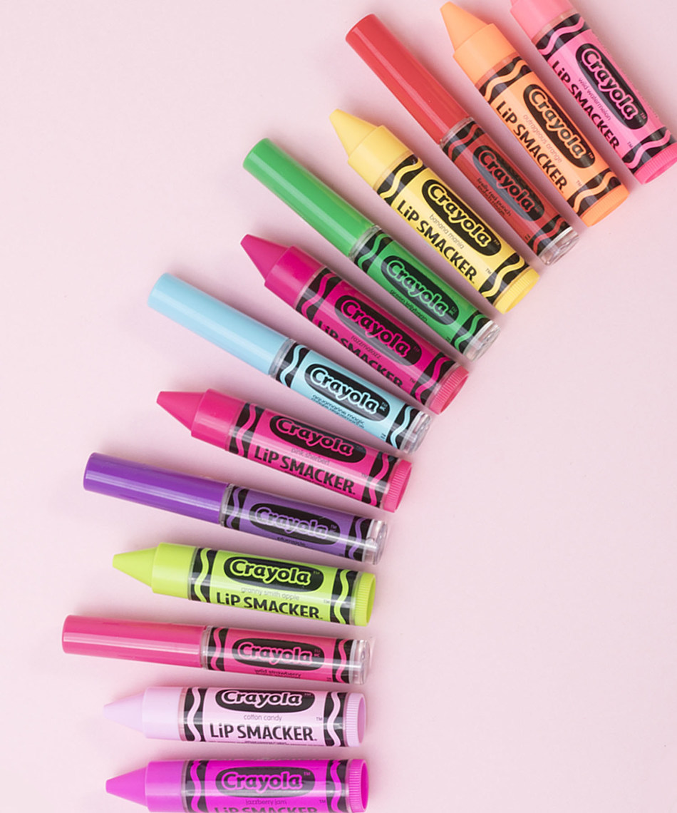 LiP SMACKER® and Crayola® Collaborate to Launch a Colorful Collection